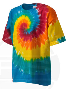 Blue Ridge Middle School Junior Jackets Kid's Tie-Dye T-Shirt
