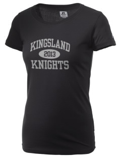 Kingsland High School Knights  Russell Women's Campus T-Shirt