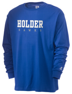 Holder Elementary School Hawks  Russell Men's Long Sleeve T-Shirt