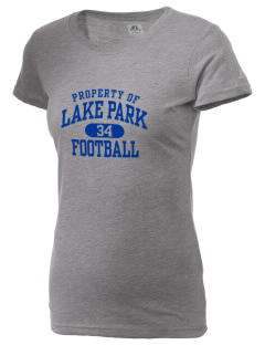 Lake Park Elementary School Lakers  Russell Women's Campus T-Shirt
