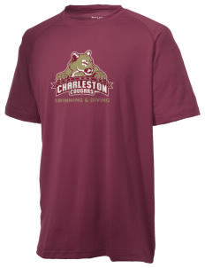 College of charleston cougars men s ultimate performance t shirt