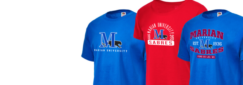 10bb070c Marian University Sabres Apparel Store