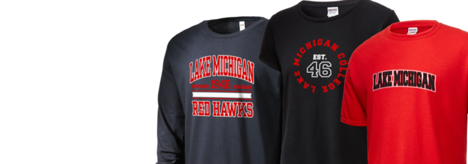 02dcaff31fc Lake Michigan College Red Hawks Apparel Store