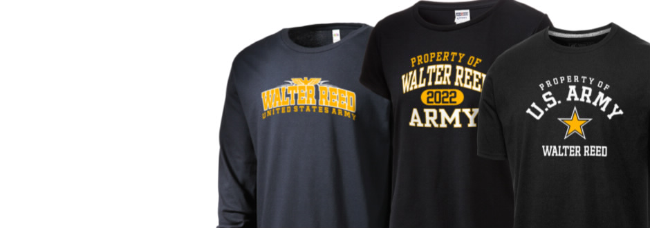 49908be2 Walter Reed Army Medical Center fan gear!