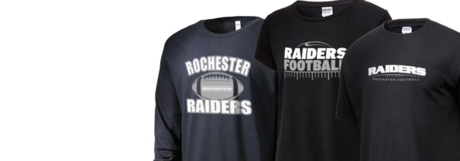06e16a25f Rochester Raiders fan gear!