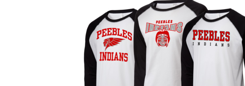 dd4dddadd0 Get your Indians Gear. Men sWomen s. Shop your Peebles High School ...