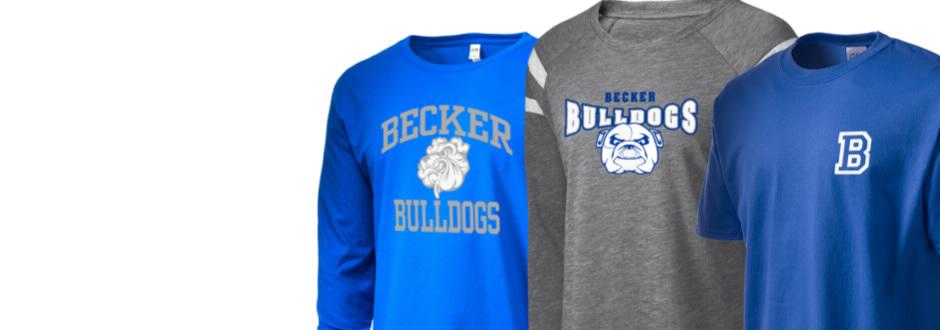 becker high school bulldogs apparel store becker minnesota prep sportswear. Black Bedroom Furniture Sets. Home Design Ideas