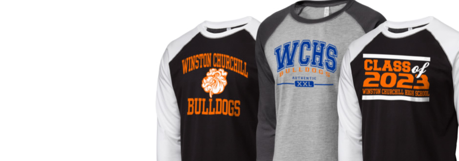e637dc9975f Winston Churchill High School Bulldogs Apparel Store