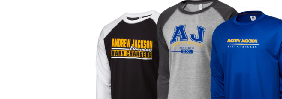 Andrew Jackson Elementary School Baby Chargers Arel
