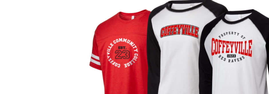 Coffeyville Community College Red Ravens Apparel Store a12282e13