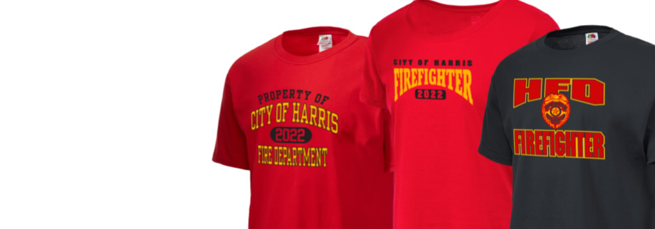 City of Harris Fire Department Apparel Store