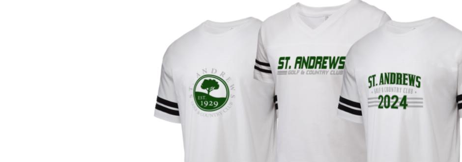 10e1e3707b304 Men'sWomen's. Shop your St. Andrews Golf & Country Club Apparel ...