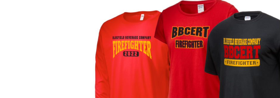 Bluefield Beverage Company- Emergency Response Team fan gear!