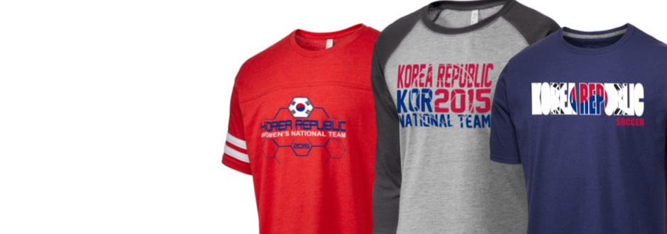 d73b4e5a4 Korea Republic Soccer Apparel Store