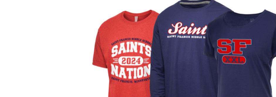 Saint Francis Middle School Saints Apparel Store