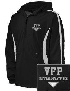 Carlyle Vipers Vipers Fastpitch Fastpitch Embroidered Men's Colorblock Raglan Anorak