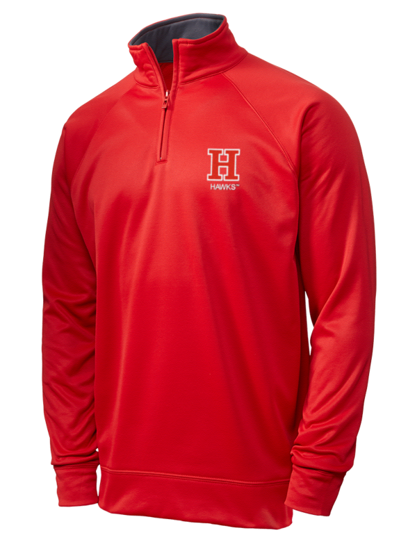 huge selection of 55d43 d4d25 University of Hartford Hawks Embroidered JERZEES Dri-POWER® Sport 1/4 Zip  Sweatshirt