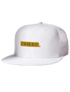 loadanim Baylor University Bears Embroidered Cotton Twill Flat Bill Trucker  Style Snapback Cap e107d17a0281
