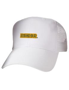 loadanim Baylor University Bears Embroidered Cotton Twill Trucker-Style  Mesh Back Cap 06d1e510891f