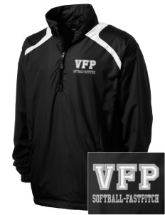 Carlyle Vipers Vipers Fastpitch Fastpitch Men's Embroidered 1/2-Zip Wind Shirt