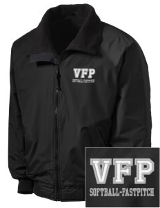 Carlyle Vipers Vipers Fastpitch Fastpitch Embroidered Men's Fleece-Lined Jacket