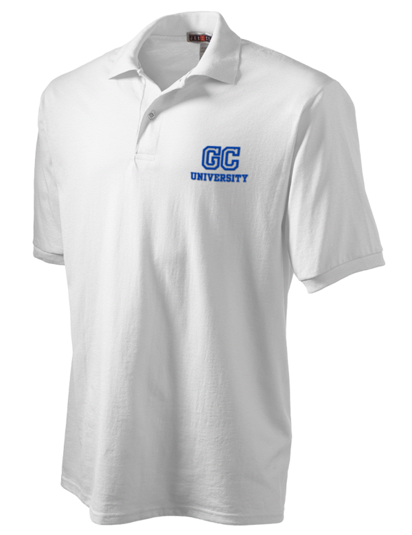 Glasgow caledonian university embroidered jerzees men s