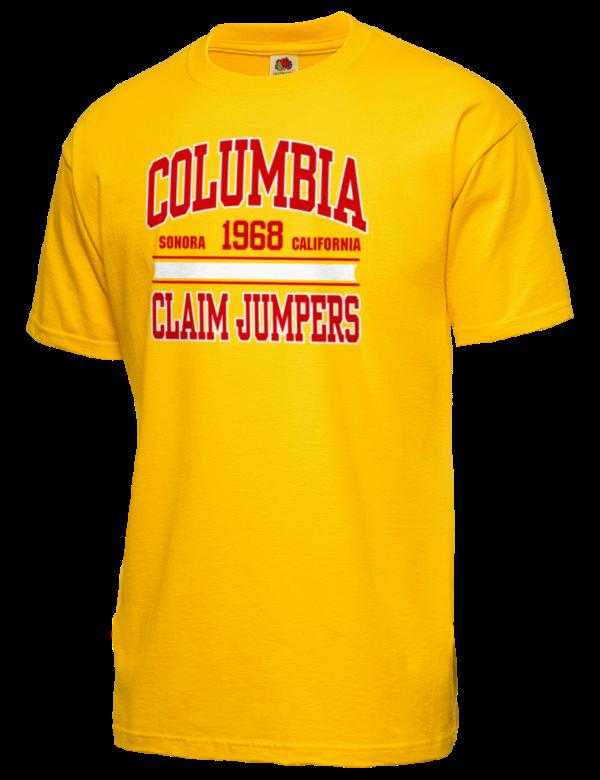 9fa280965e5 Columbia College Claim Jumpers Fruit of the Loom Apparel