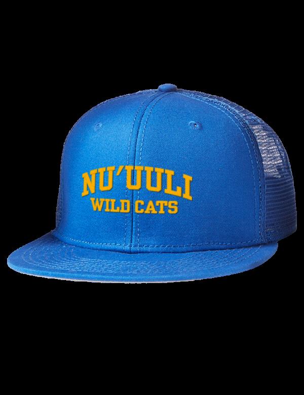 e7fc366bffc38c Nuuuli Voc-Tech High School Wild cats Embroidered Cotton Twill Flat ...