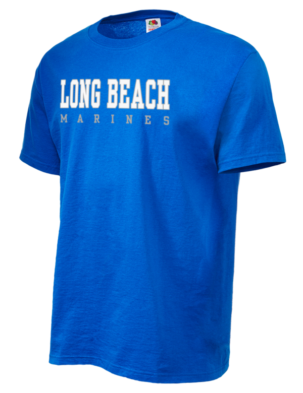 long beach high school marines fruit of the loom men 39 s 5oz