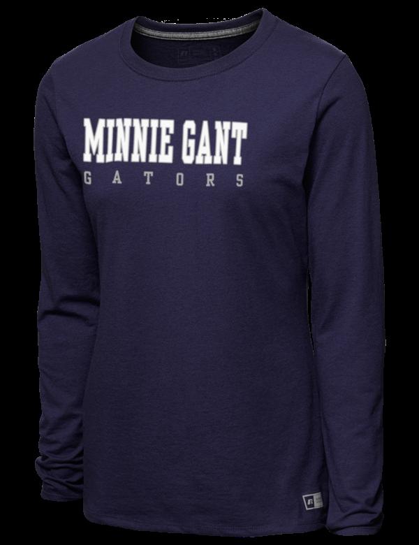 04978d48c01 Minnie Gant Elementary School Gators Women's T-Shirts - Long Sleeve