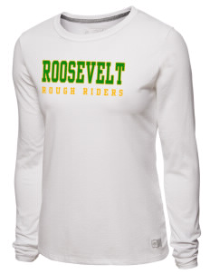 loadanim Roosevelt High School Rough Riders Russell Athletic Women s Long  Sleeve T-Shirt c09ba3050