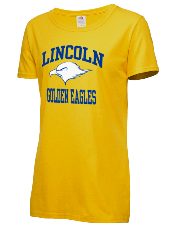 Lincoln High School Golden Eagles Fruit Of The Loom Women