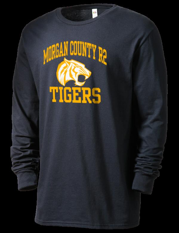 Morgan County R2 High School Tigers Sofspun Men S 4 7oz