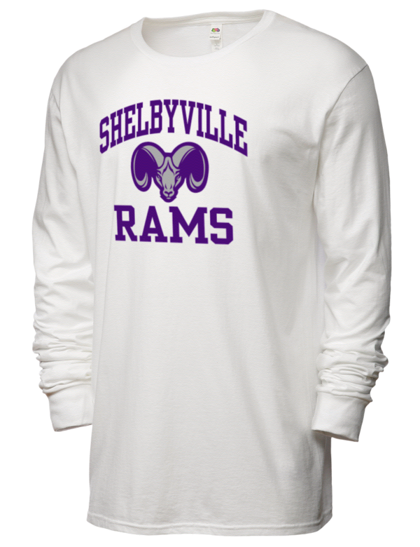Shelbyville High School Rams Sofspun Men S 4 7oz Cotton