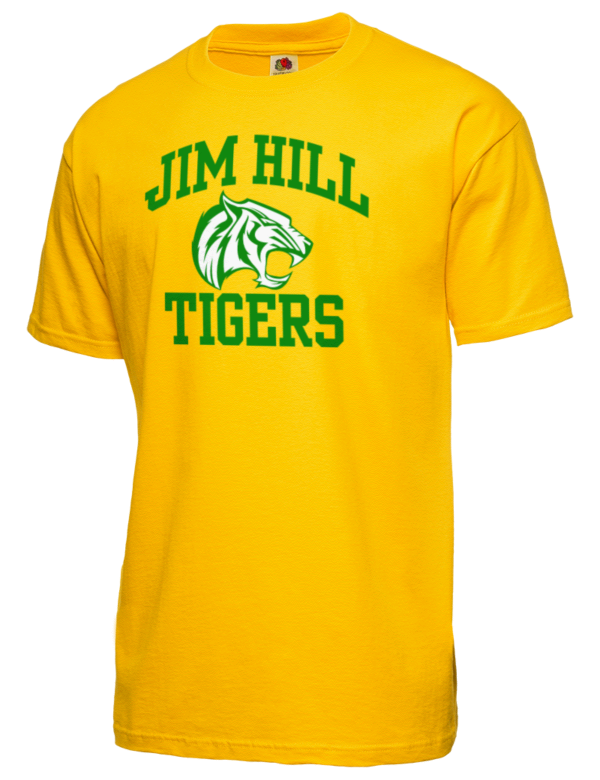 Jim hill high school tigers featured t shirts prep for T shirts jackson ms