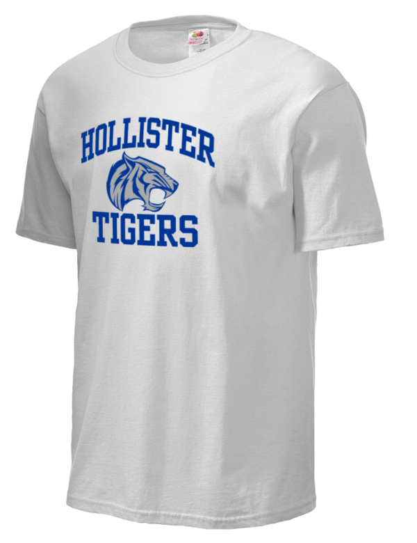 Hollister high school tigers fruit of the loom men 39 s 5oz for Hollister live chat