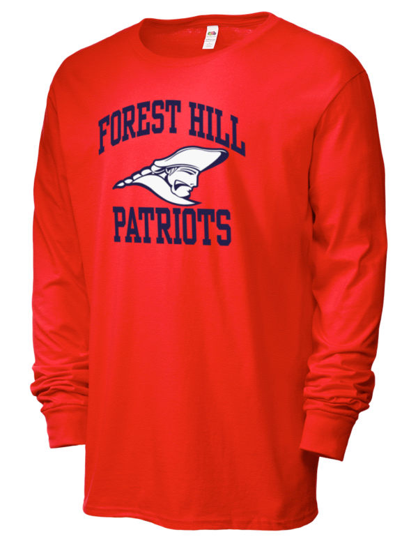 Forest hill high school patriots sofspun men 39 s for T shirts jackson ms