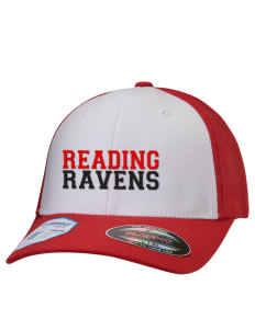 Reading Area Community College Rockets Hats Stretch Fit Caps