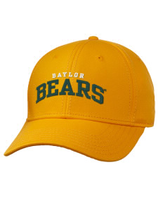 loadanim Baylor University Bears Embroidered Superior Cotton Twill Low  Profile Cap with Large Embroidery Design 3b616f0478a6