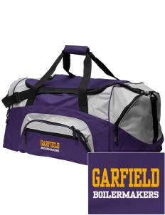 Loadanim Garfield High School Boilermakers Embroidered Colorblock Duffle Bag