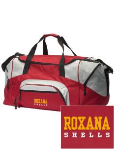 Loadanim Roxana High School Ss Embroidered Colorblock Duffle Bag