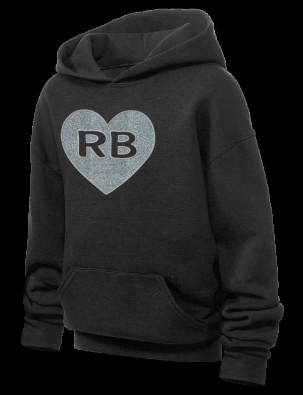 d30eef061e4 Robert Bateman Secondary School Timberwolves JERZEES Youth Hooded Sweatshirt  with Sparkle Twill™