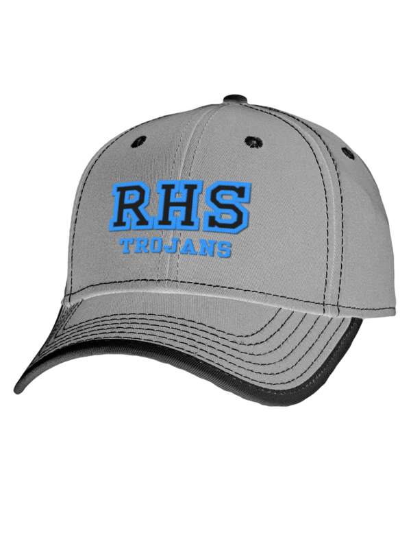 Jean ribault high school trojans embroidered cotton twill