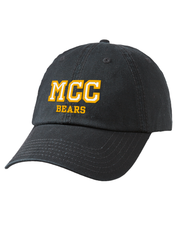 Mott Community College Bears Embroidered Garment Washed ...