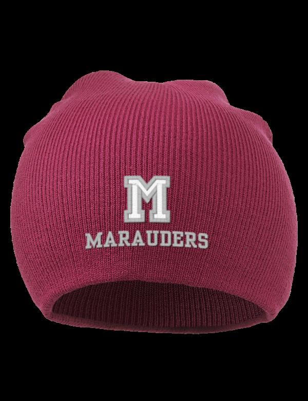 Mcmaster university marauders embroidered acrylic beanie
