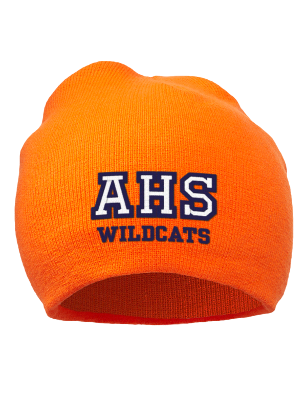 Armstrong high school wildcats embroidered acrylic beanie