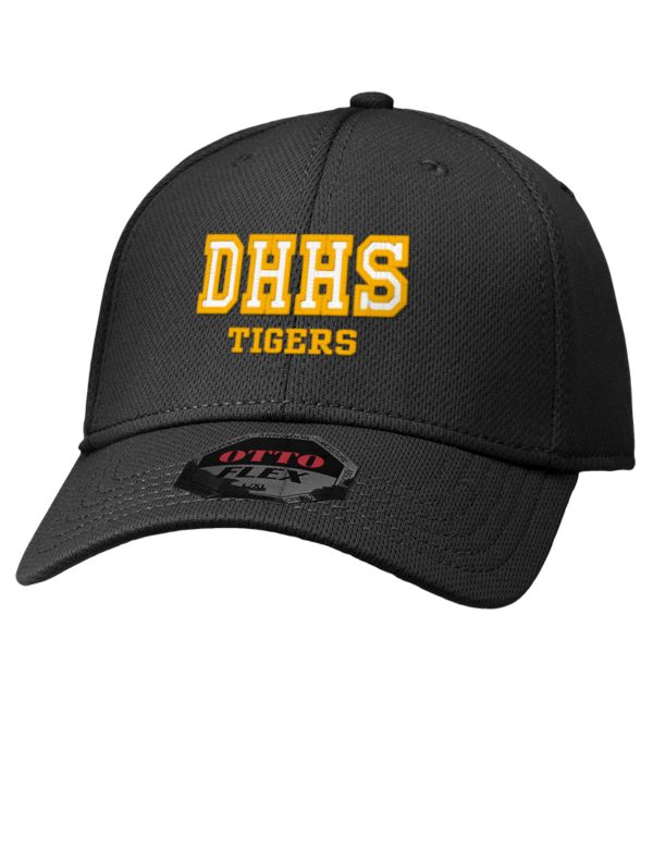 Daniel Hand High School Tigers Hats - Stretch Fit Caps da20a833ee9f