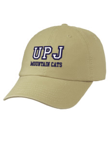 e11b88f0352 loadanim University of Pittsburgh Johnstown Mountain Cats Embroidered  Garment Washed Twill Vintage-Style Cap