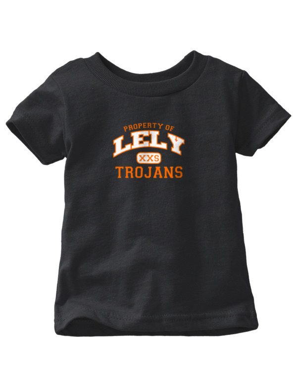 Lely High School Trojans Baby Tops