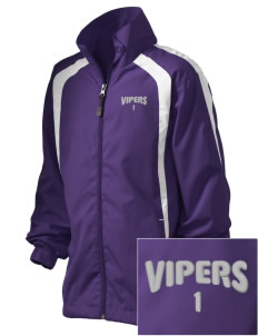 Carlyle Vipers Vipers Fastpitch Fastpitch Embroidered Youth Color Block Jacket